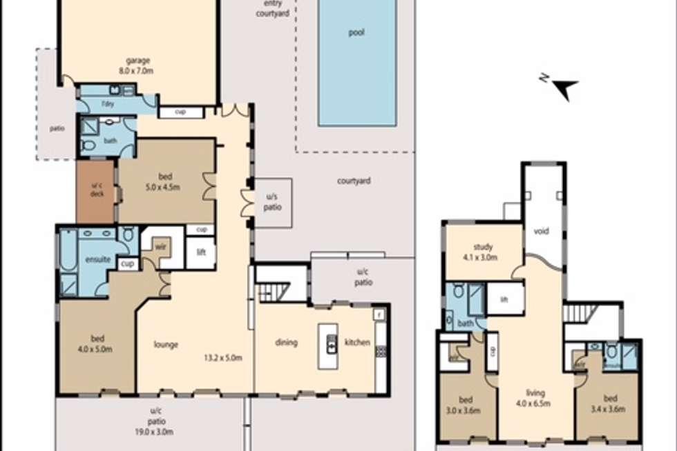 Floorplan of Homely villa listing, 745/61 Noosa Springs Drive, Noosa Springs QLD 4567