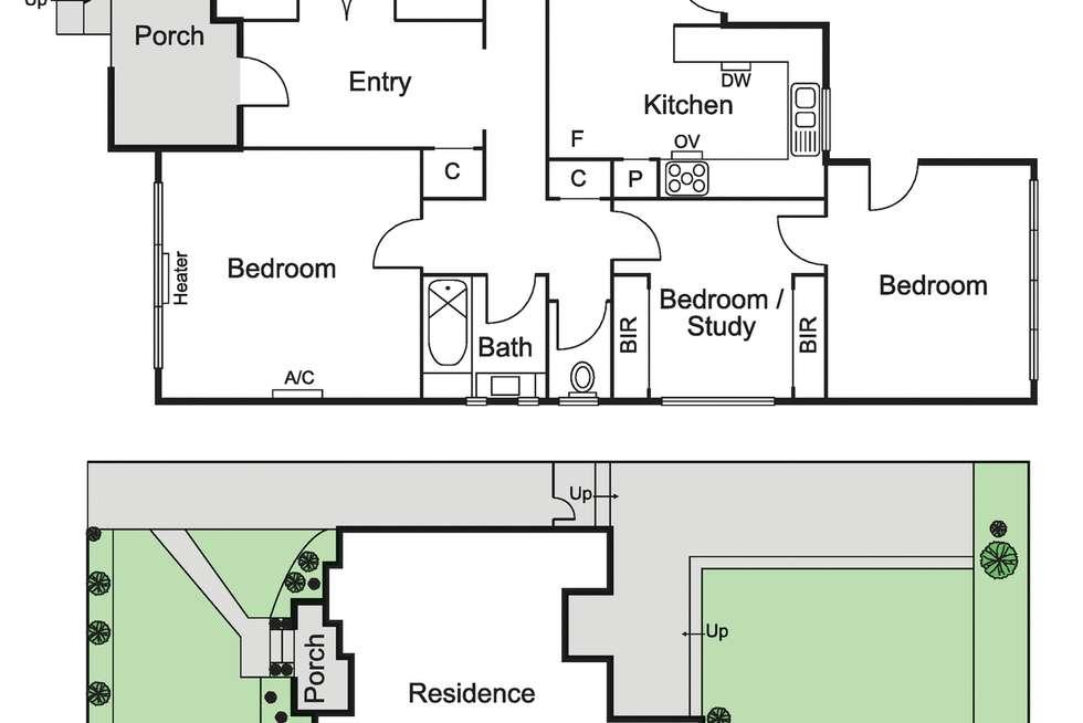 Floorplan of Homely house listing, 21 Bayview Street, Elsternwick VIC 3185
