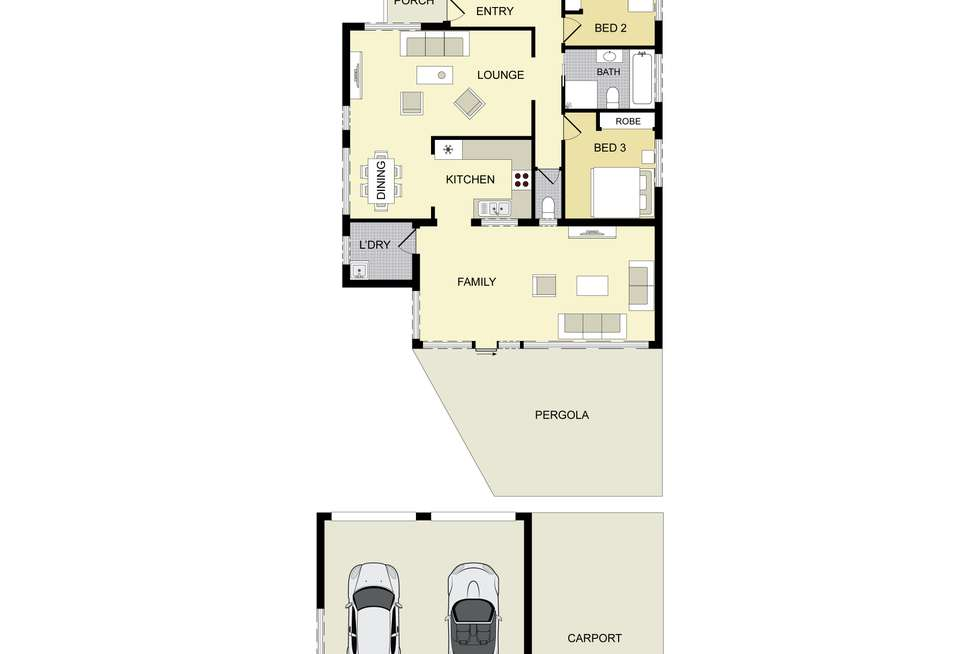 Floorplan of Homely house listing, 6 Hume Street, Campbelltown NSW 2560
