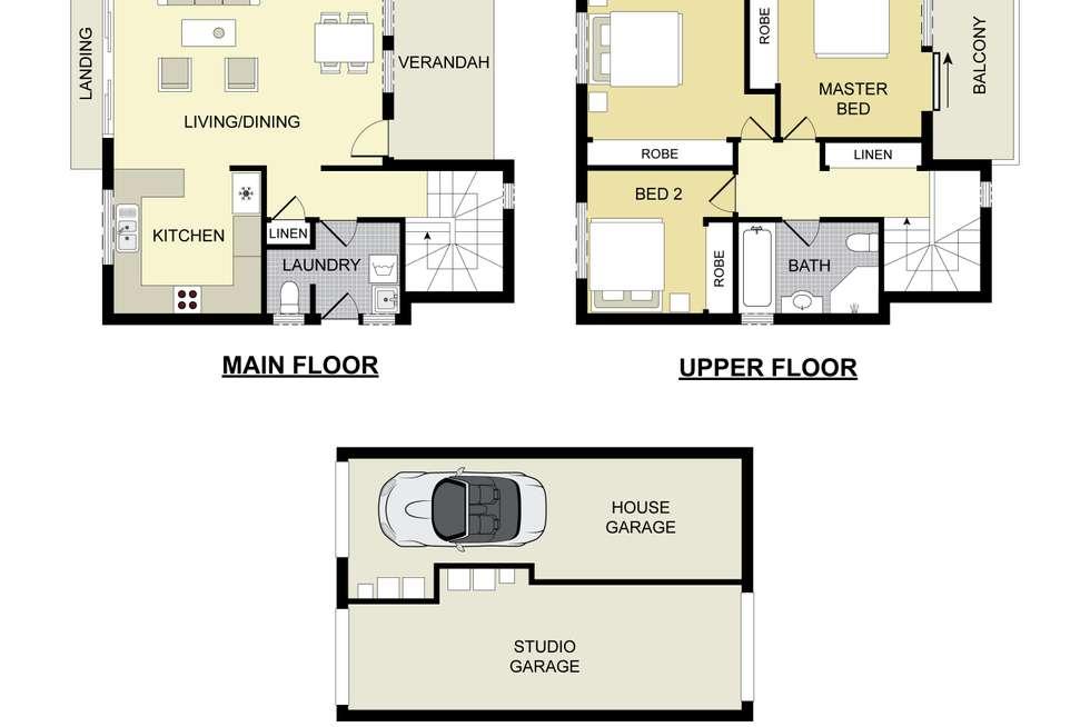 Floorplan of Homely house listing, 33 Santana Road, Campbelltown NSW 2560