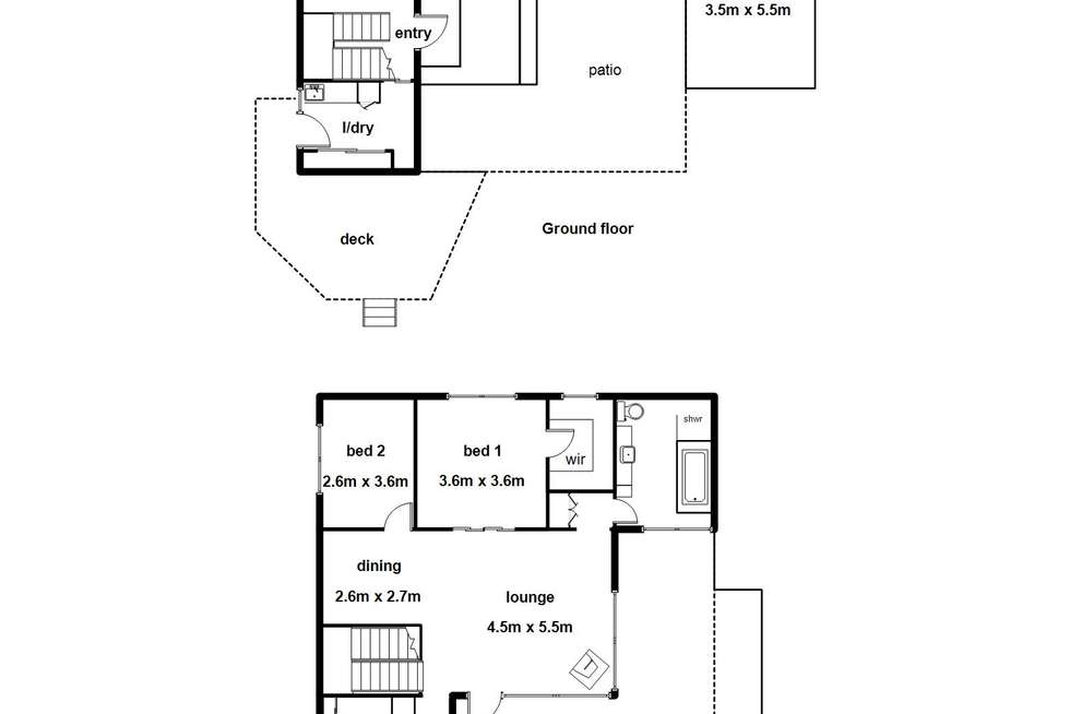 Floorplan of Homely house listing, 4 Mildura Avenue, Warburton VIC 3799