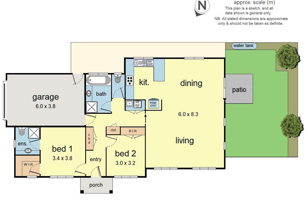 Floorplan of Homely townhouse listing, 12/235 Canterbury Road, Bayswater North VIC 3153