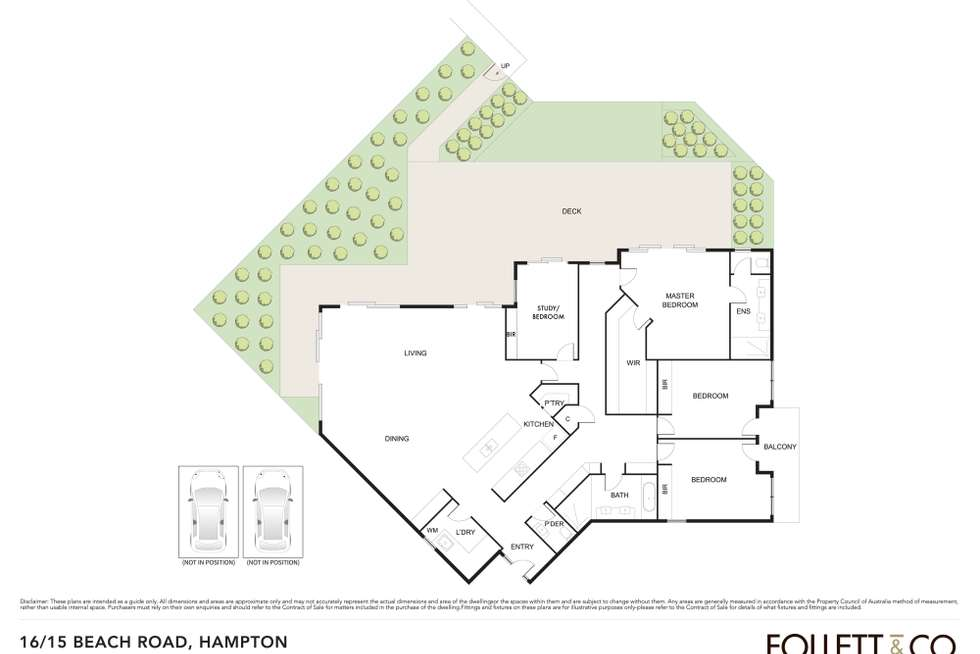 Floorplan of Homely apartment listing, 16/15 Beach Road, Hampton VIC 3188