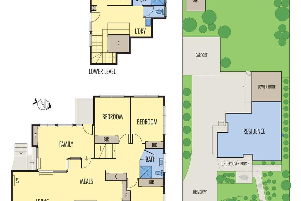 Floorplan of Homely house listing, 16 Wattle Avenue, Montmorency VIC 3094