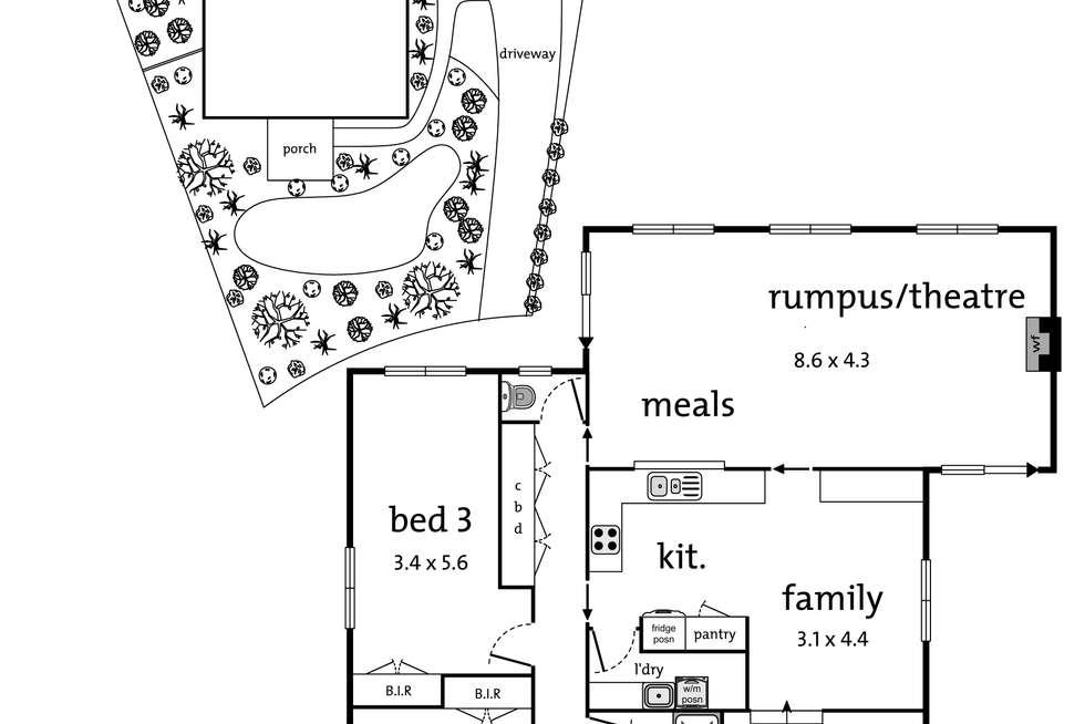 Floorplan of Homely house listing, 24 Shane Crescent, Croydon South VIC 3136