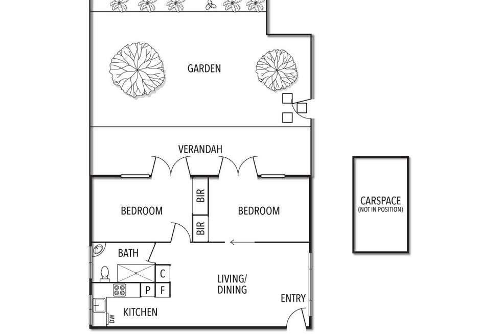 Floorplan of Homely apartment listing, 1/21 Thanet Street, Malvern VIC 3144