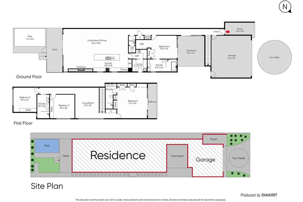 Floorplan of Homely house listing, 701 Point Nepean Road, Mccrae VIC 3938