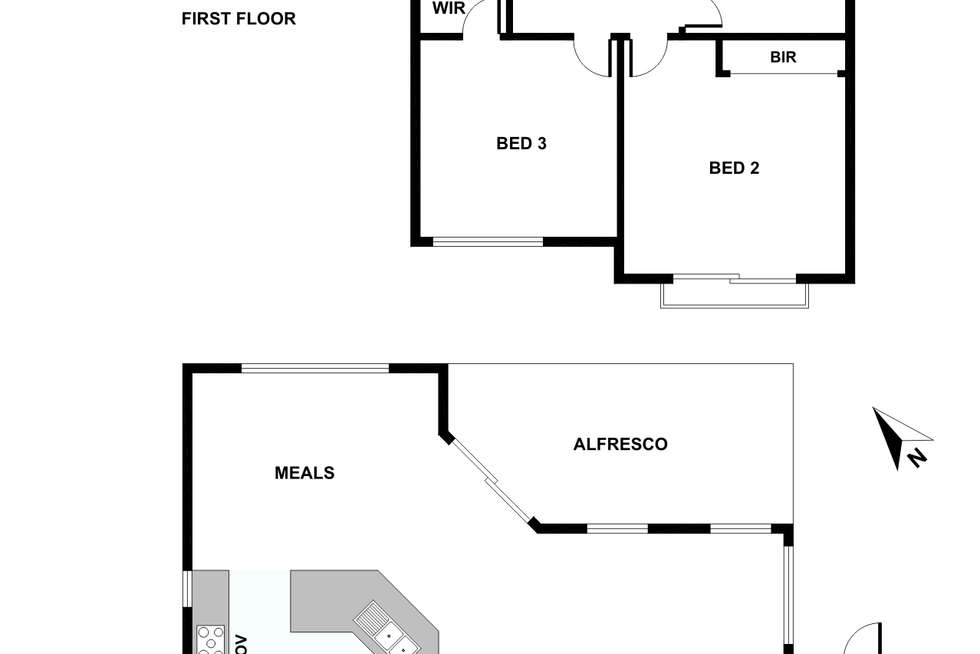 Floorplan of Homely house listing, 14 Houston Place, Mount Claremont WA 6010