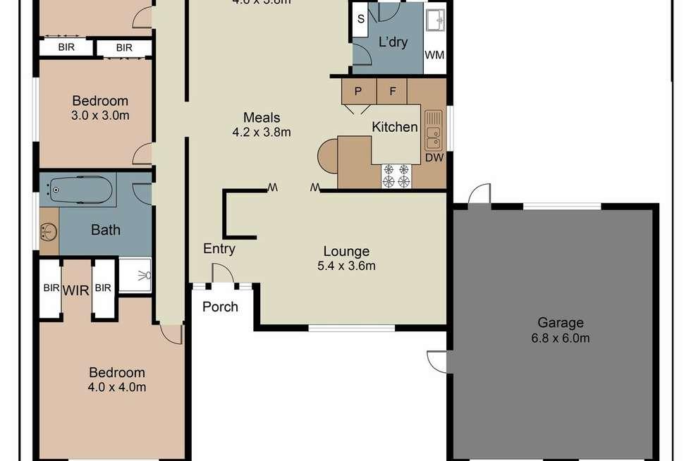 Floorplan of Homely house listing, 12 Wanaka Drive, Taylors Lakes VIC 3038