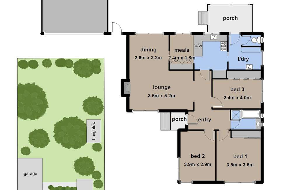 Floorplan of Homely house listing, 35 Belmont Road West, Croydon South VIC 3136