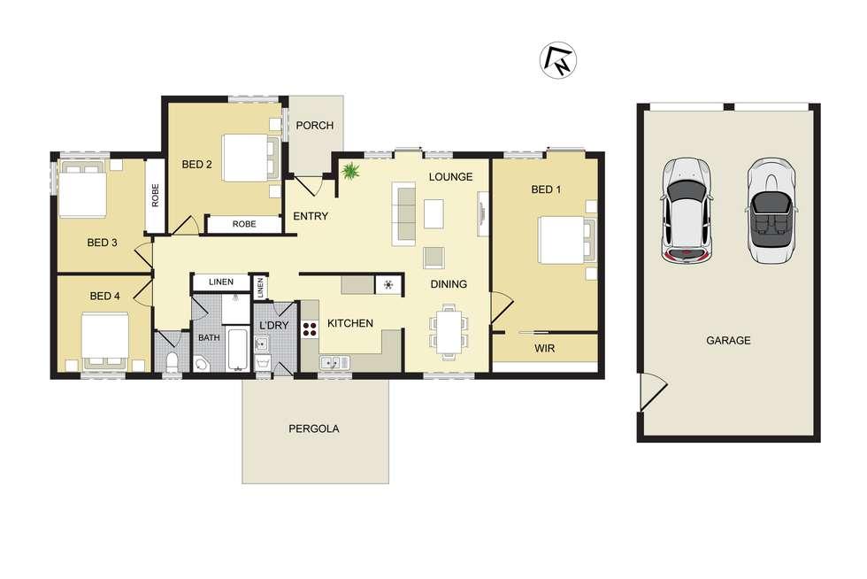 Floorplan of Homely house listing, 2 Bradbury Street, Tahmoor NSW 2573