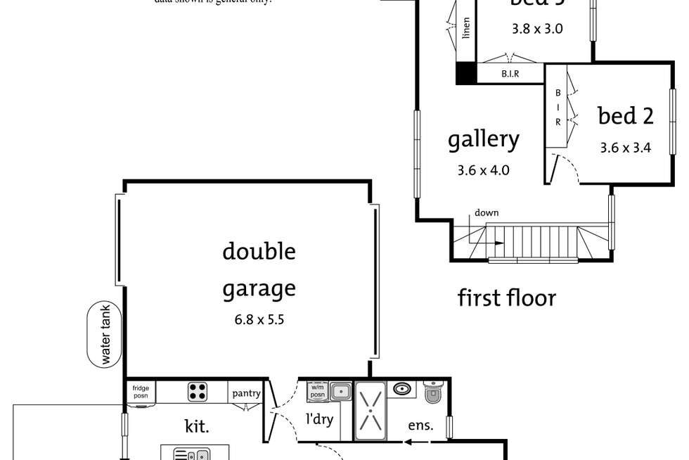 Floorplan of Homely townhouse listing, 2/41 Belmont Road West, Croydon South VIC 3136