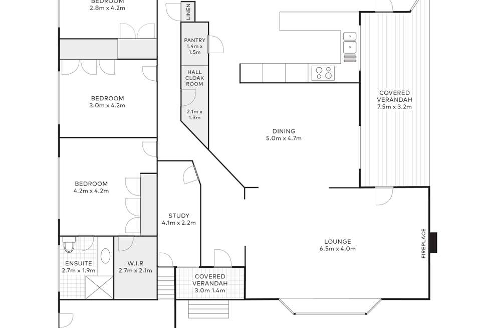 Floorplan of Homely house listing, 7A Greyleaves Avenue, Burradoo NSW 2576