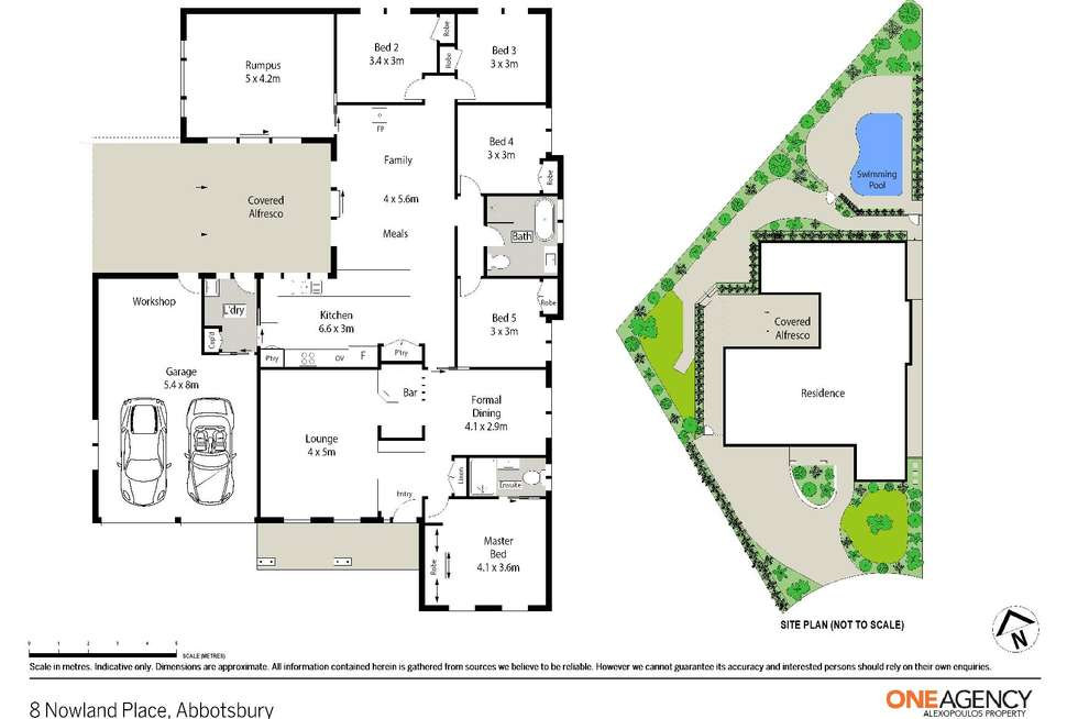 Floorplan of Homely house listing, 8 Nowland Place, Abbotsbury NSW 2176