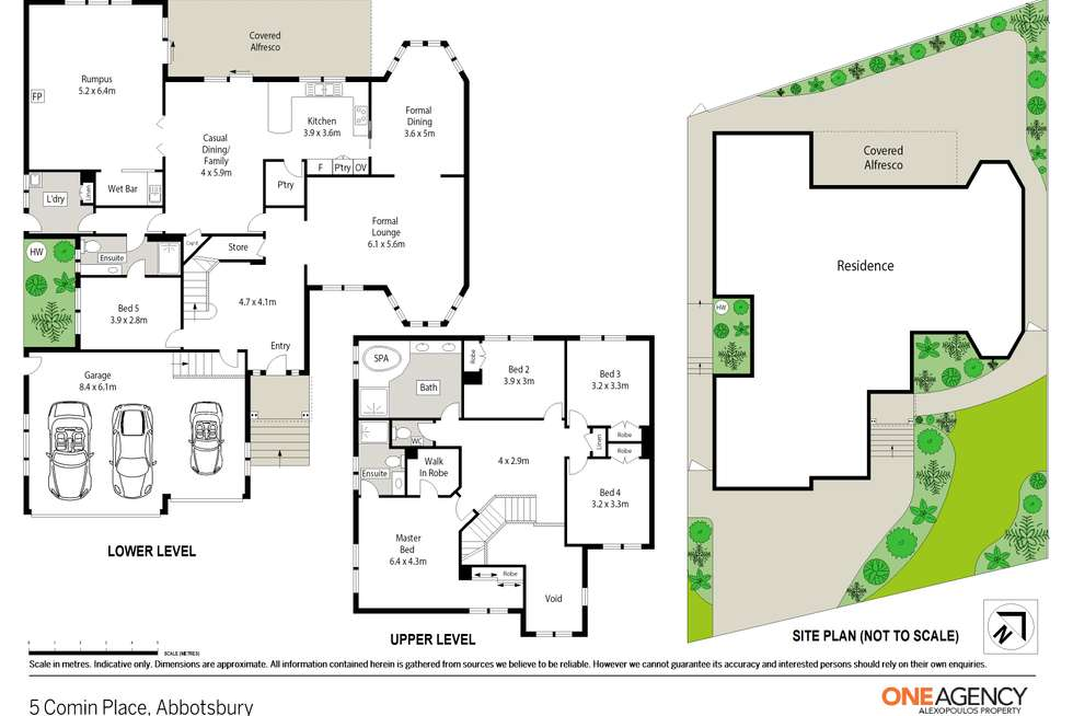 Floorplan of Homely house listing, 5 Comin Place, Abbotsbury NSW 2176