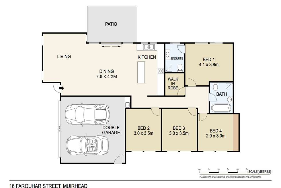 Floorplan of Homely house listing, 16 Farquhar Street, Muirhead NT 810