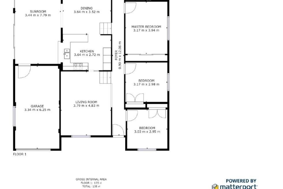 Floorplan of Homely house listing, 4 Bream Close, Emerald Beach NSW 2456