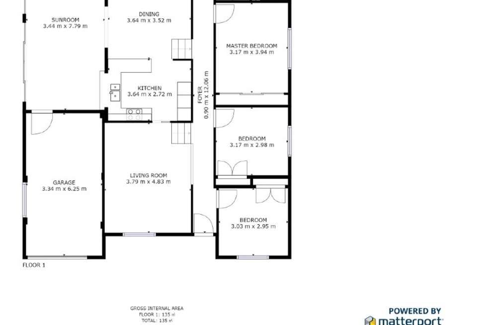 Floorplan of Homely house listing, 4 Bream Close, Emerald Beach NSW 2456