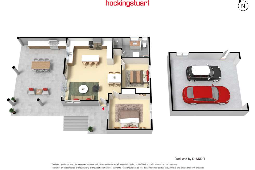 Floorplan of Homely house listing, 12 Iris Street, Dromana VIC 3936