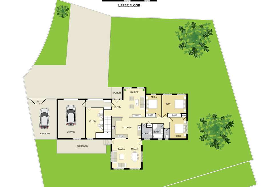 Floorplan of Homely house listing, 1 York Street, Tahmoor NSW 2573