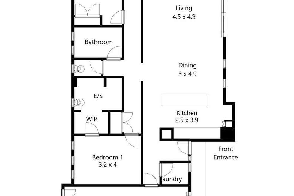 Floorplan of Homely house listing, 12 Sage Close, Alfredton VIC 3350