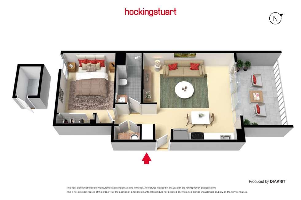 Floorplan of Homely apartment listing, 202/44 Beach Street, Frankston VIC 3199