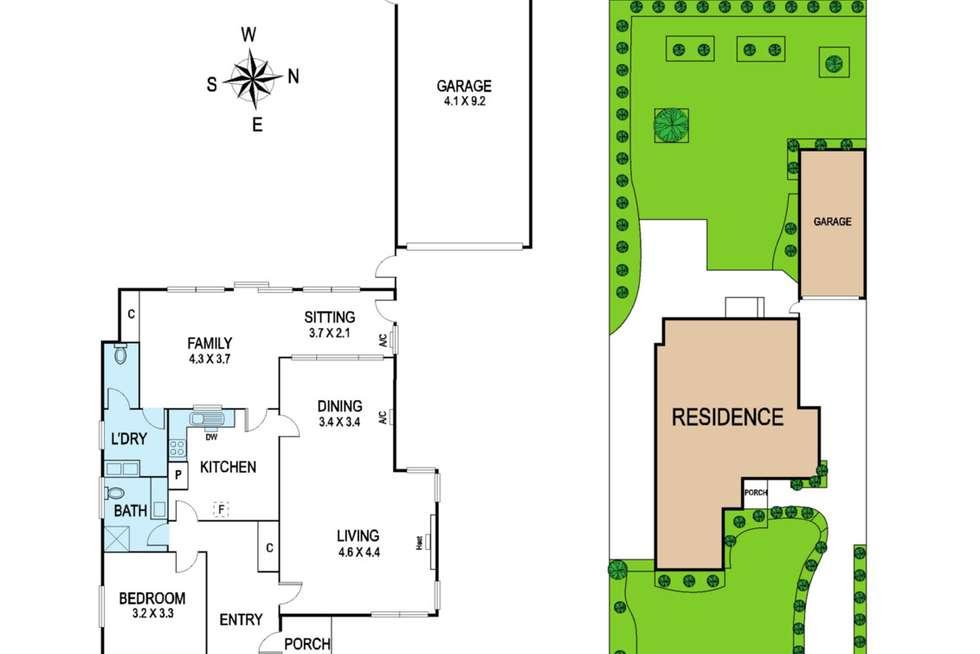 Floorplan of Homely house listing, 85 Bowen Street, Malvern East VIC 3145