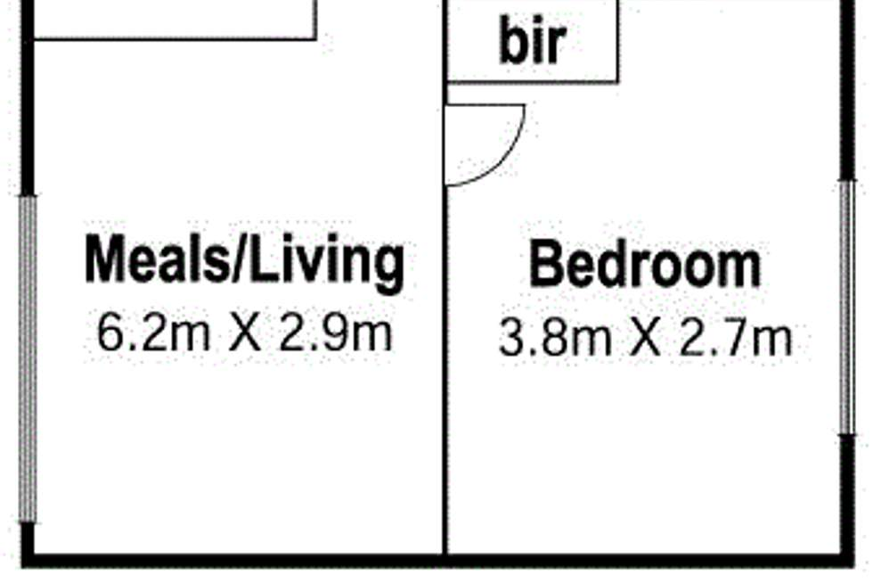 Floorplan of Homely apartment listing, 1/35 Staley Street, Brunswick VIC 3056