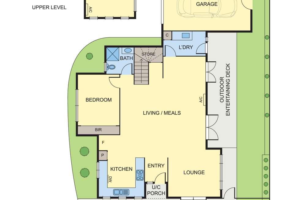 Floorplan of Homely townhouse listing, 1/6 Graeme Avenue, Montmorency VIC 3094