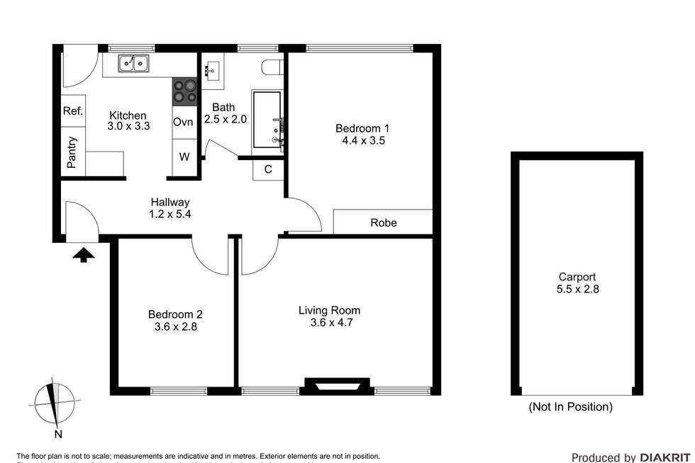 Floorplan of Homely apartment listing, 3/8 Cromwell Road, South Yarra VIC 3141