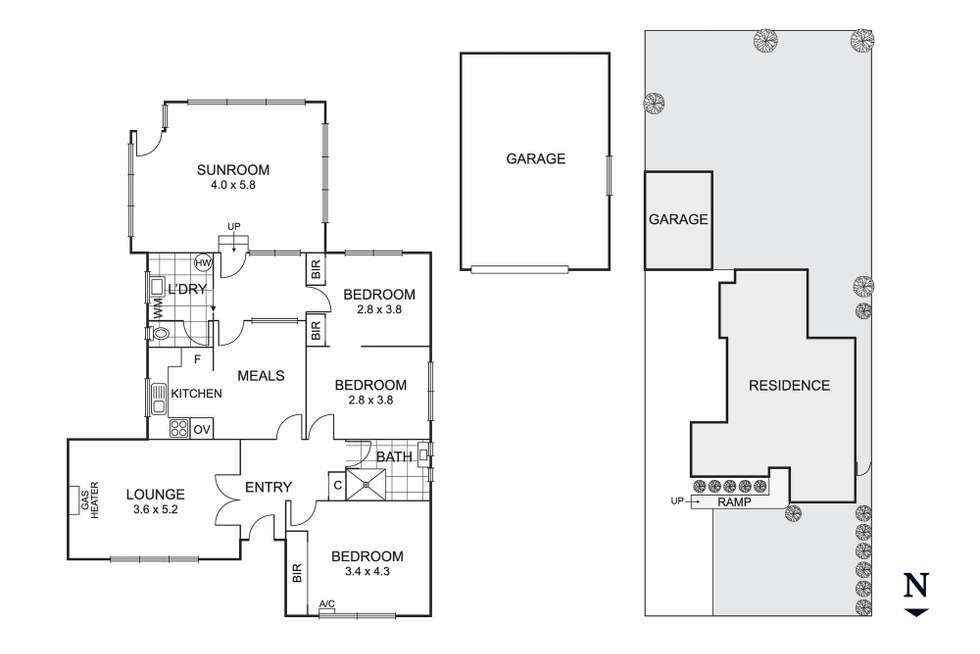 Floorplan of Homely house listing, 6 Gordon Street, Beaumaris VIC 3193