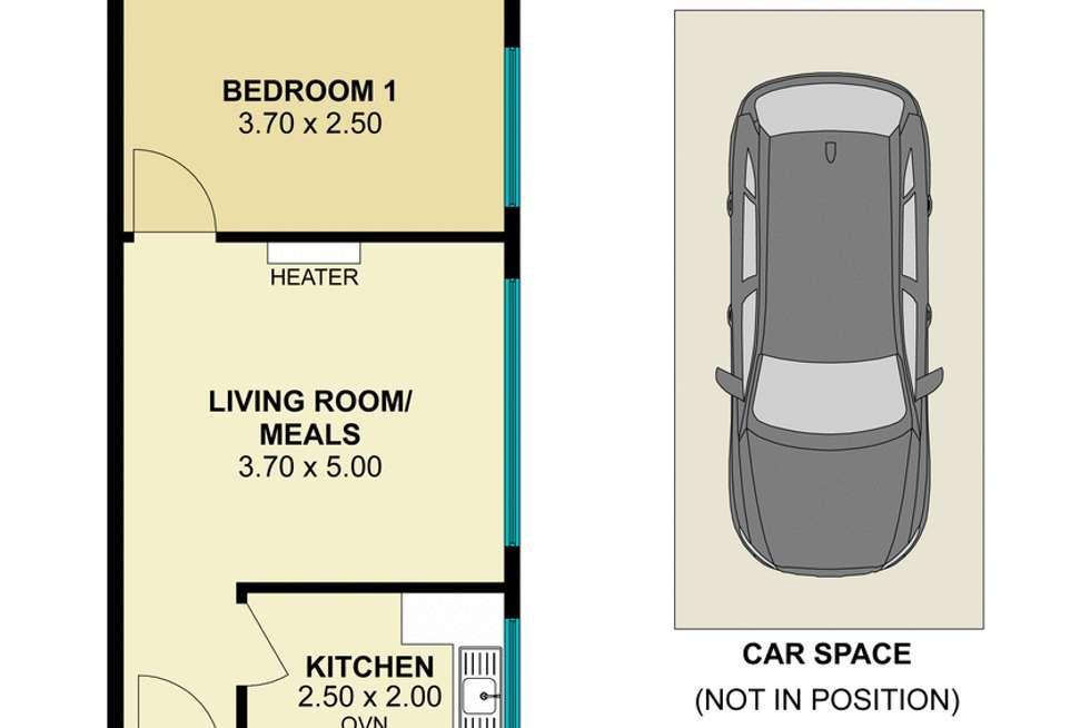 Floorplan of Homely apartment listing, 6/5 Barnsbury Road, South Yarra VIC 3141
