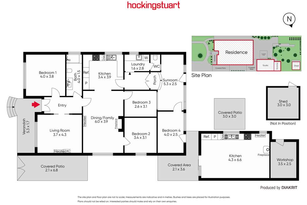 Floorplan of Homely house listing, 3 Kitchener Grove, Preston VIC 3072