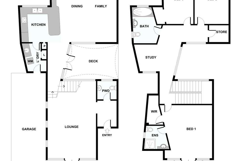 Floorplan of Homely house listing, 35 Woolwich Street, West Leederville WA 6007