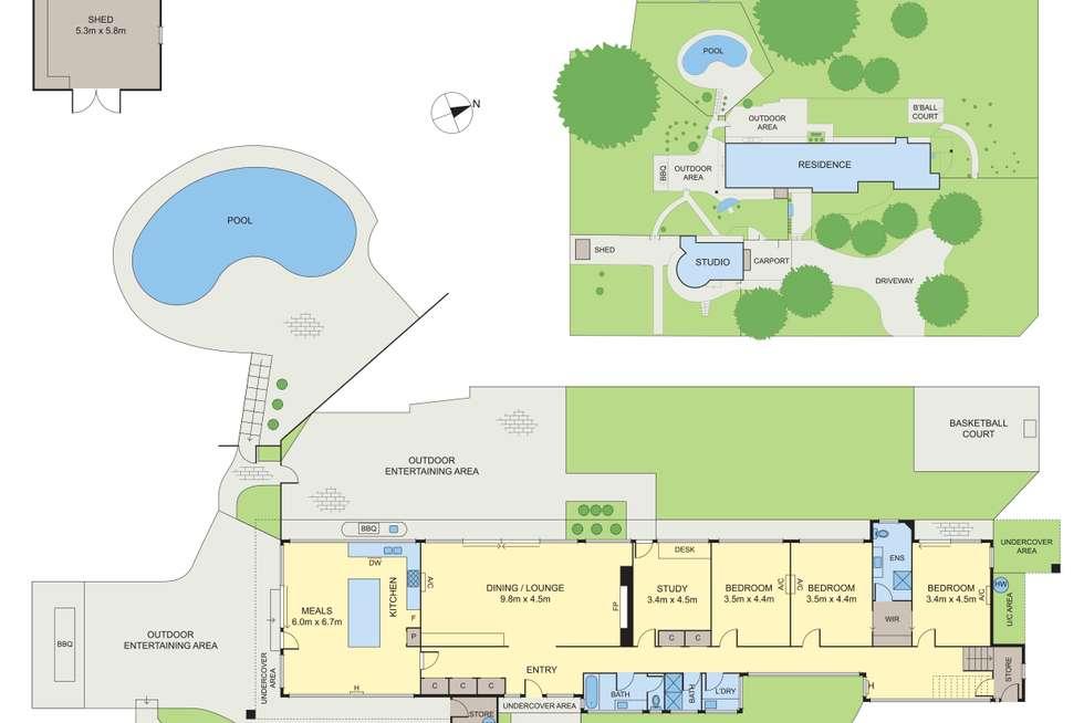 Floorplan of Homely house listing, 79 Lavender Park Road, Eltham VIC 3095