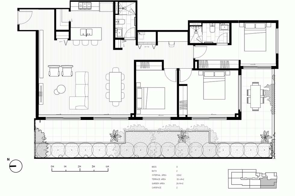 Floorplan of Homely apartment listing, 2/7 Riversdale Road, Hawthorn VIC 3122