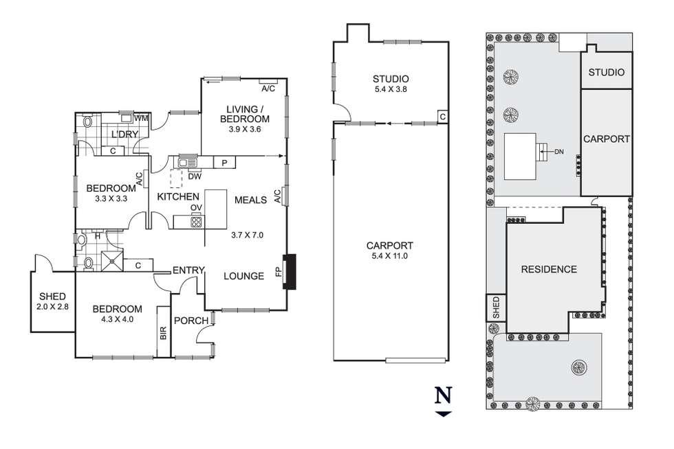 Floorplan of Homely house listing, 8 Gordon Street, Beaumaris VIC 3193