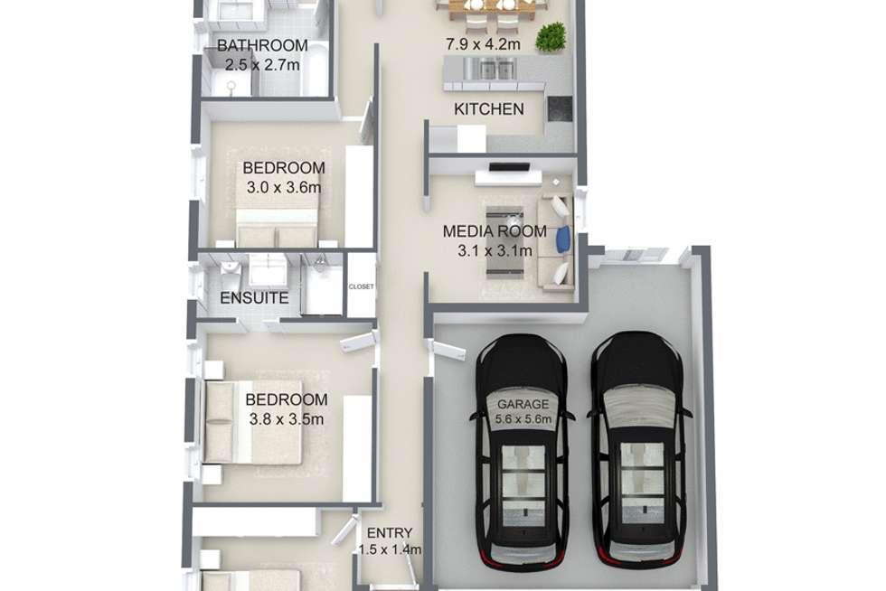 Floorplan of Homely house listing, 21 Nova Street, Waterford QLD 4133
