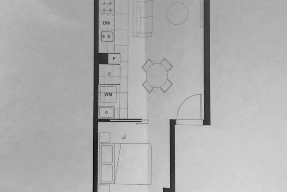Floorplan of Homely apartment listing, 109/99 Dow Street, Port Melbourne VIC 3207