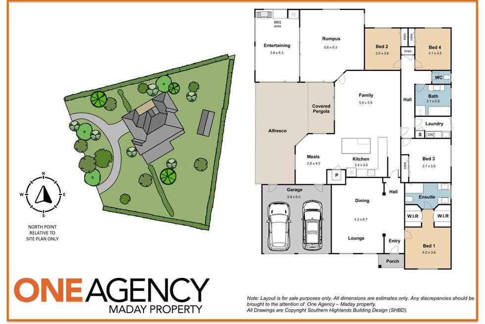 Floorplan of Homely house listing, 10 Stratford Way, Burradoo NSW 2576