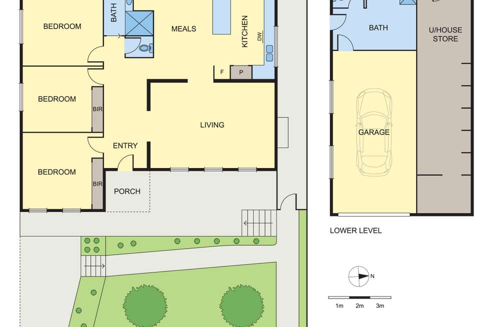Floorplan of Homely house listing, 1/9 Nokes Court, Montmorency VIC 3094