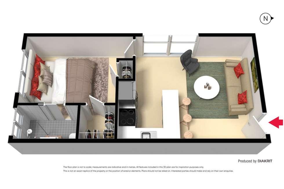 Floorplan of Homely apartment listing, 21/65 Richmond Terrace, Richmond VIC 3121