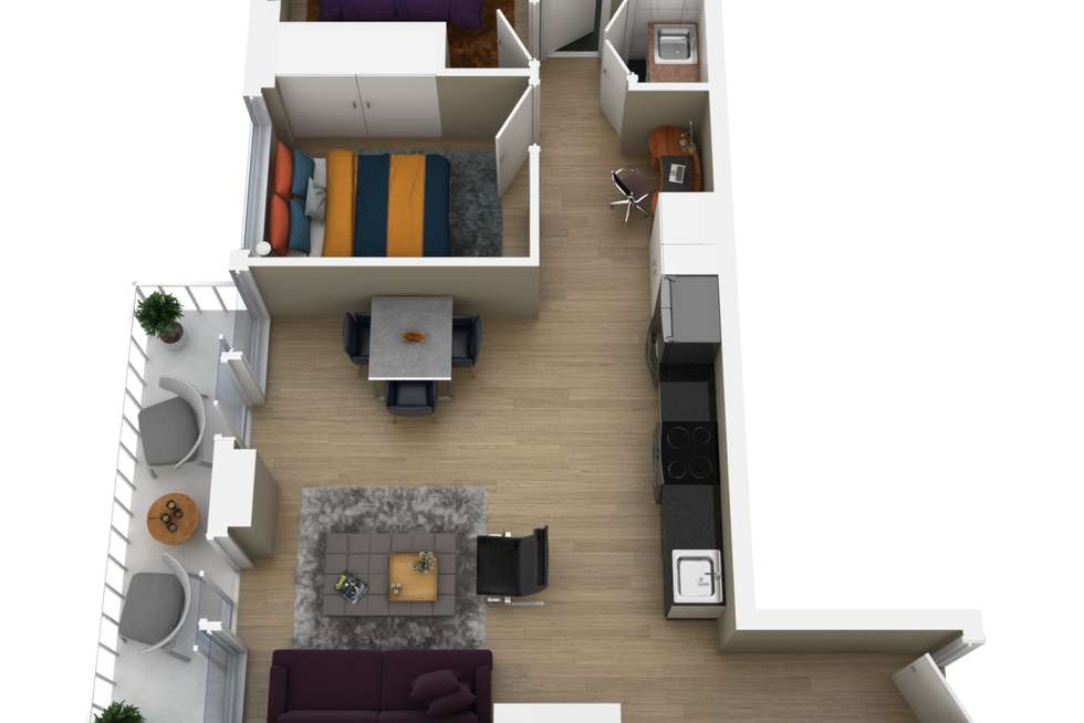 Floorplan of Homely apartment listing, 110/6 Lord Street, Richmond VIC 3121