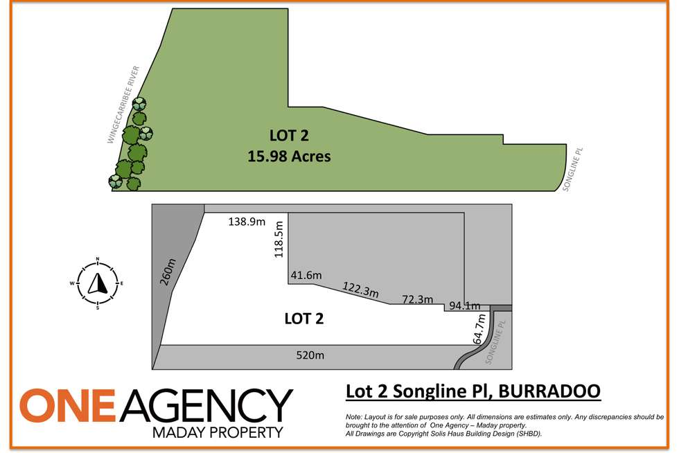 Floorplan of Homely residentialLand listing, 10 Songline Place, Burradoo NSW 2576