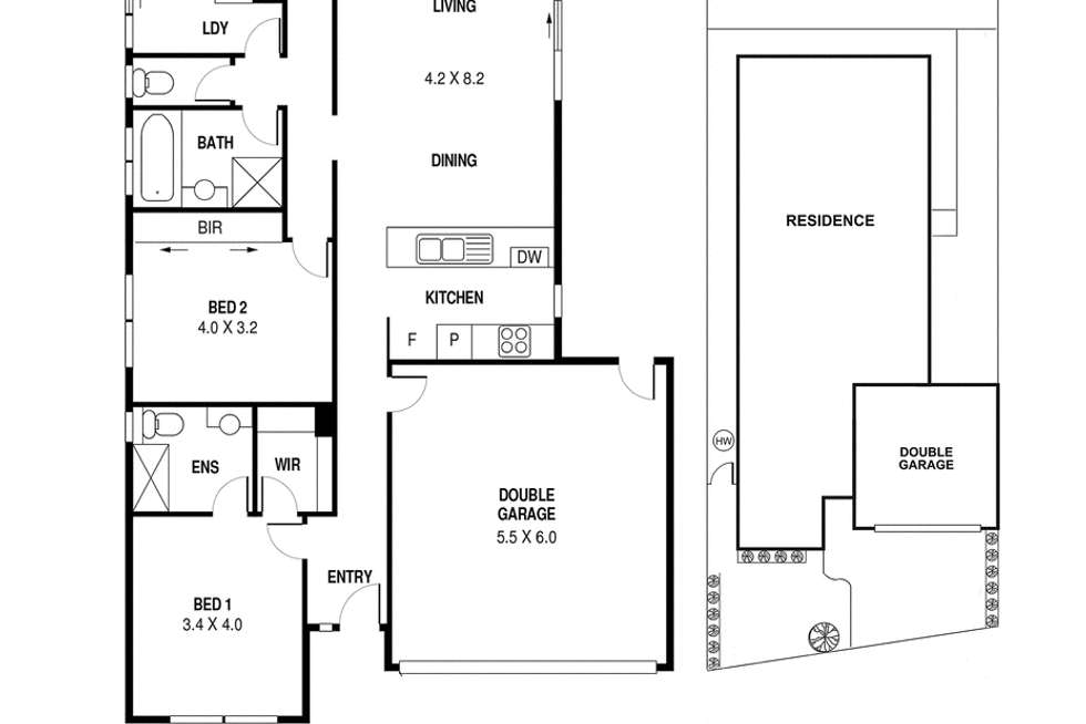 Floorplan of Homely house listing, 97 Henry Road, Pakenham VIC 3810