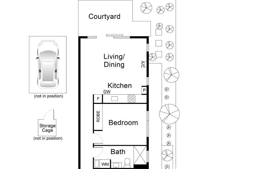 Floorplan of Homely apartment listing, 6/17 Railway Parade, Murrumbeena VIC 3163