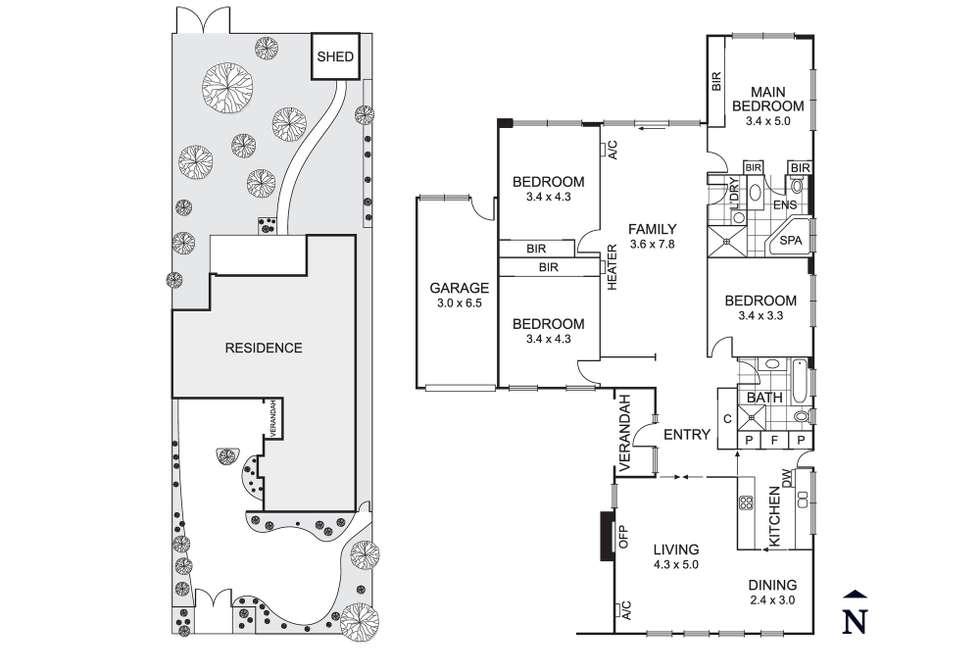 Floorplan of Homely house listing, 402 Balcombe Road, Beaumaris VIC 3193
