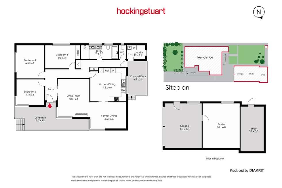 Floorplan of Homely house listing, 21 Don Street, Reservoir VIC 3073