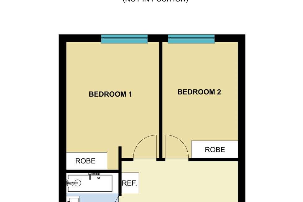 Floorplan of Homely apartment listing, 13/27 Robe Street, St Kilda VIC 3182