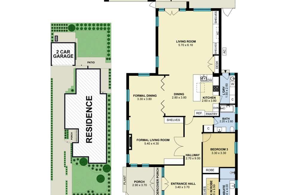 Floorplan of Homely house listing, 54 Beaver Street, Malvern East VIC 3145